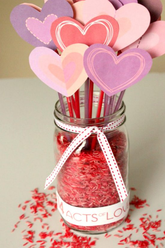 25 valentine crafts for kids nobiggie