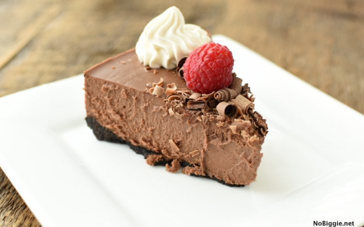 Instant Pot Chocolate Cheesecake | NoBiggie.net