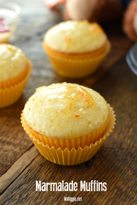Marmalade Muffins or MAhmalade as Paddington would say! #paddington #marmalademuffins #muffinrecipes #muffins #marmalade