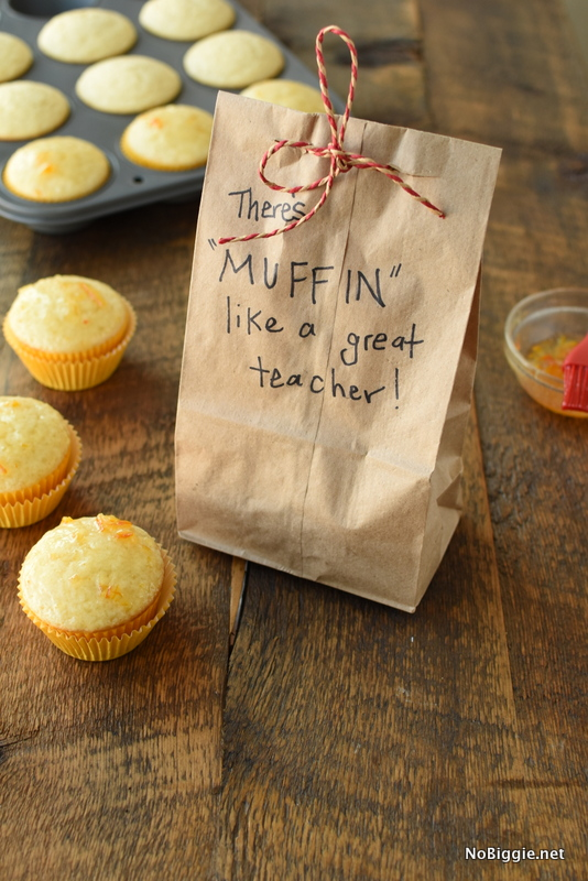Muffin like a good teacher (gift) | NoBiggie.net