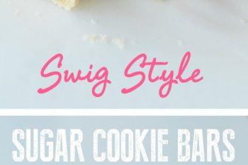 Sugar Cookie Bars – Swig Style