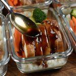 Teriyaki Chicken with cauliflower rice Meal Prep
