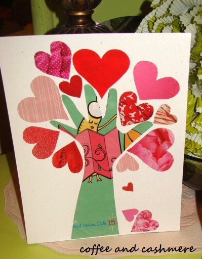 Tree of Love | 25+ Valentine Crafts for Kids