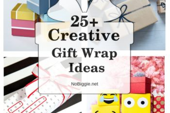 25+ Creative Gift Wrap Ideas