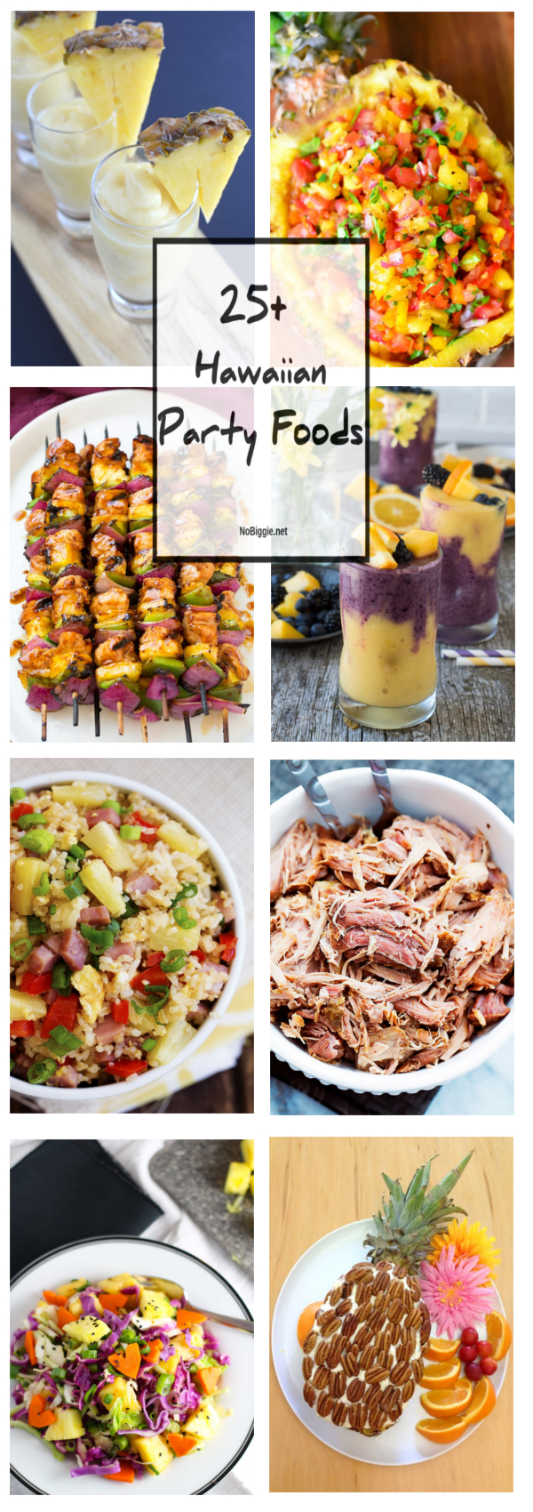 25+ hawaiian party foods | nobiggie