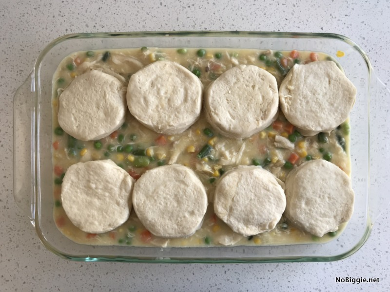 Biscuit Chicken Pot Pie | NoBiggie