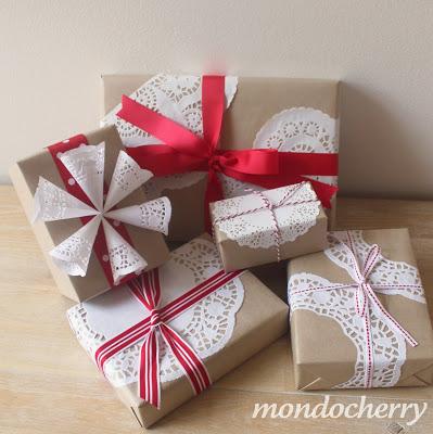 Doily Gift Wrap | 25+ Creative Gift Wrap Ideas