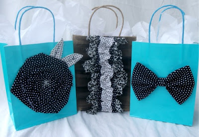 Embellished Gift bags | 25+ Creative Gift Wrap Ideas
