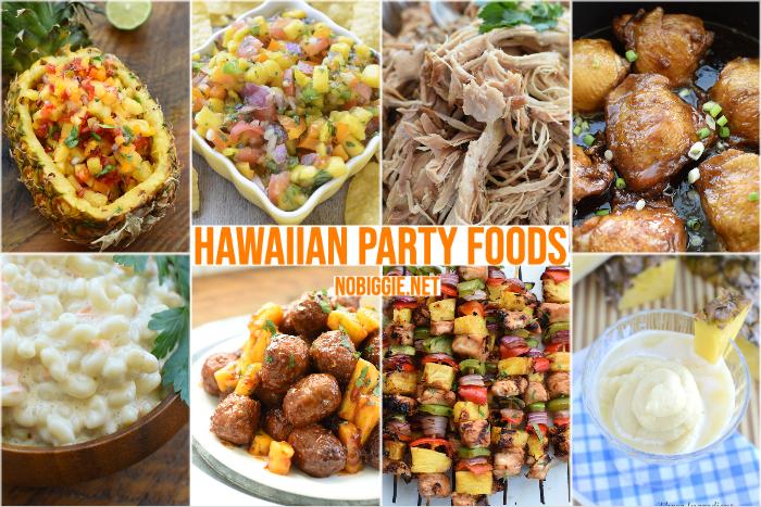 Hawaiian Party Foods | NoBiggie.net