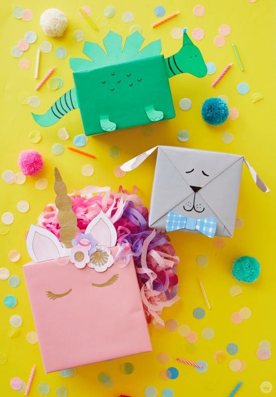 Kids Animal Gift Wrap | 25+ Creative Gift Wrap Ideas