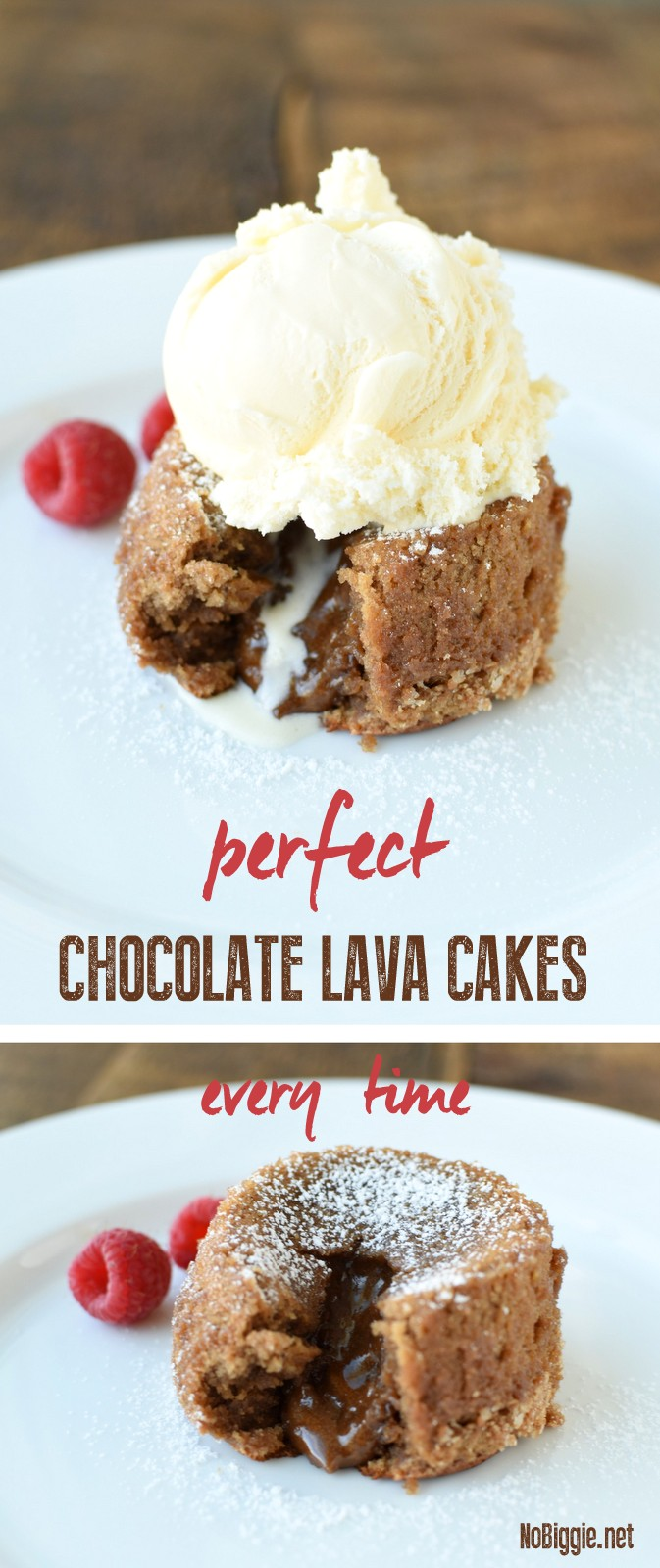Perfect Chocolate Lava Cakes every time! | NoBiggie.net