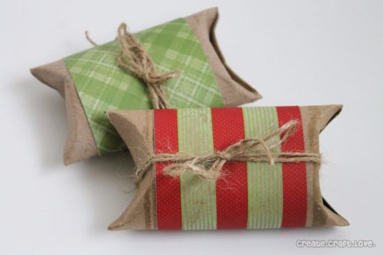 Toilet Paper Roll Pillow Box | 25+ Creative Gift Wrap Ideas