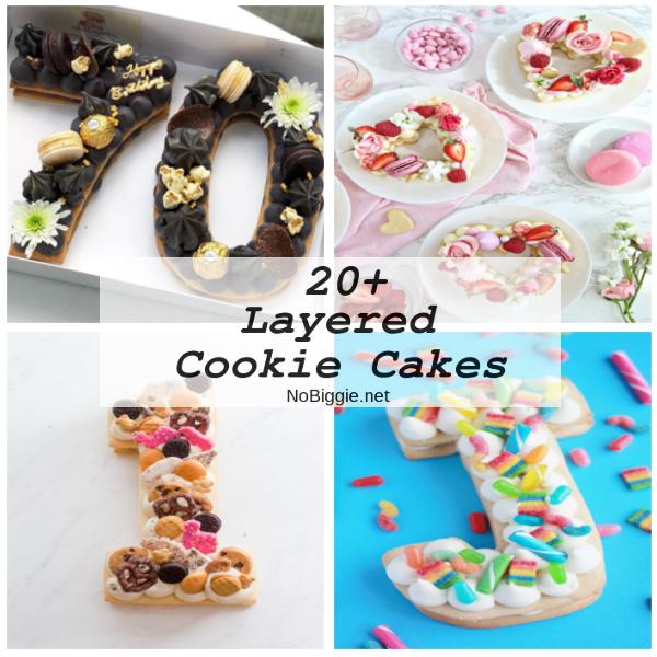 20+ Layered Cookie Cakes | NoBiggie.net