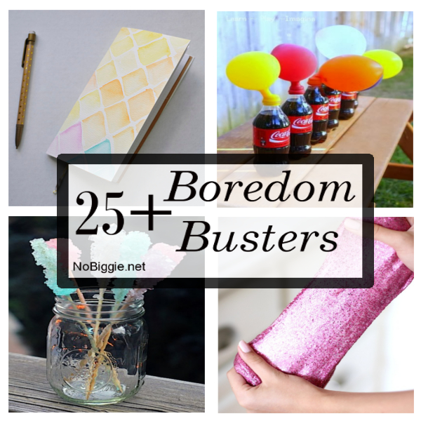 25+ Boredom Busters | NoBiggie.net