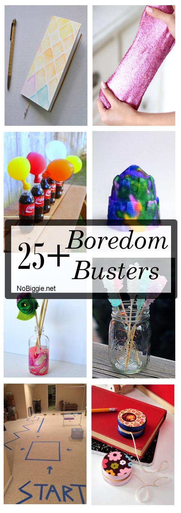 25 Boredom Busters!! Nip those i'm bored cries with these great boredom busters for your kiddos! #boredombusters #activitesforkids #summeractivities #rainydayfun #bored