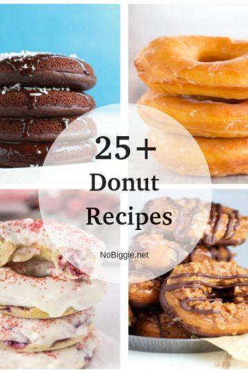 25+ Donut Recipes