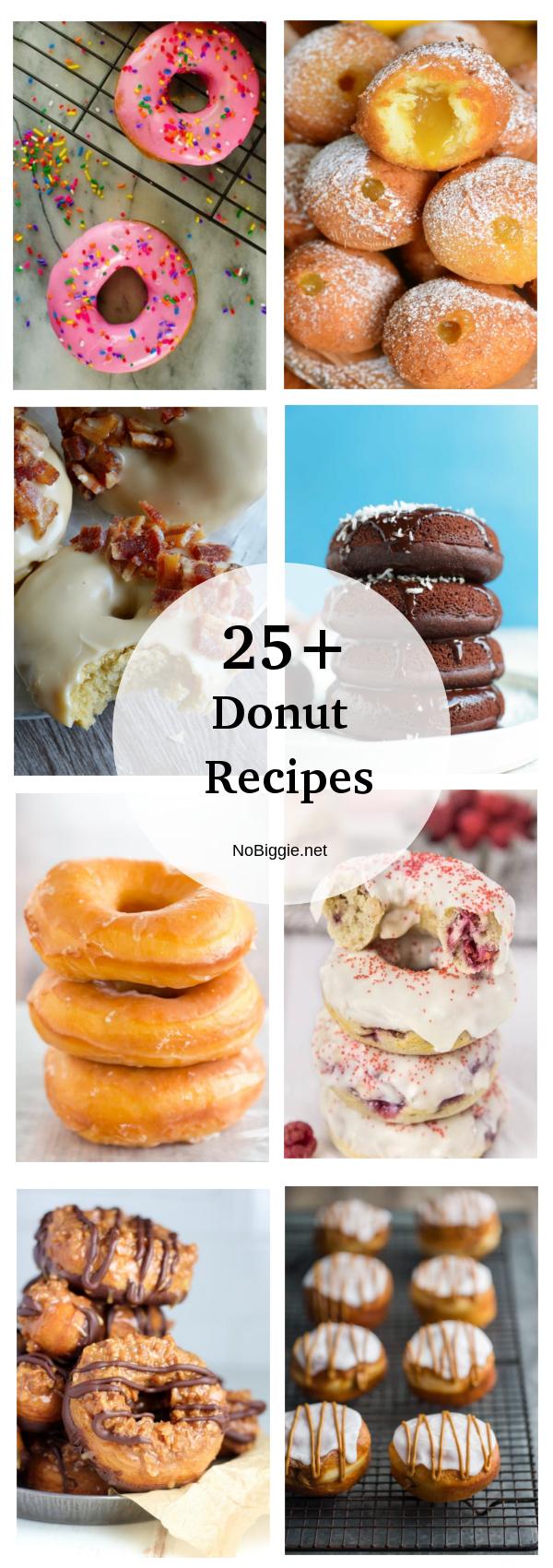 25+ Donut Recipes | NoBiggie.net