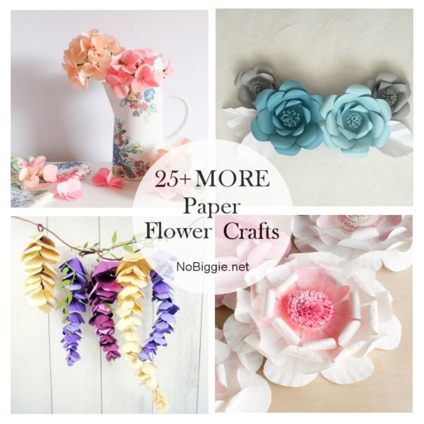 25+ MORE Paper Flowers | NoBiggie.net
