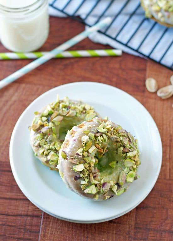 Baked Lemon Blueberry Donut | 25+ Donut Recipes