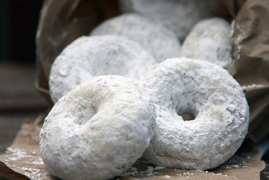 Classic Powdered Donut | 25+ Donut Recipes