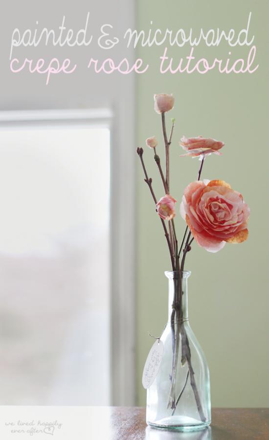 Crepe Paper Roses | 25+ MORE Paper Flowers