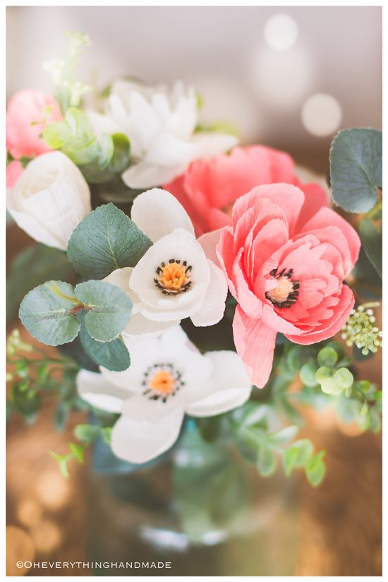 Crepe Paper Wildflower Bouquet | 25+ MORE Paper Flowers