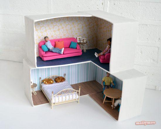 DIY Dollhouse | 25+ Boredom Busters