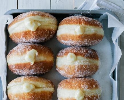 Donut with Vanilla Cream | 25+ Donut Recipes