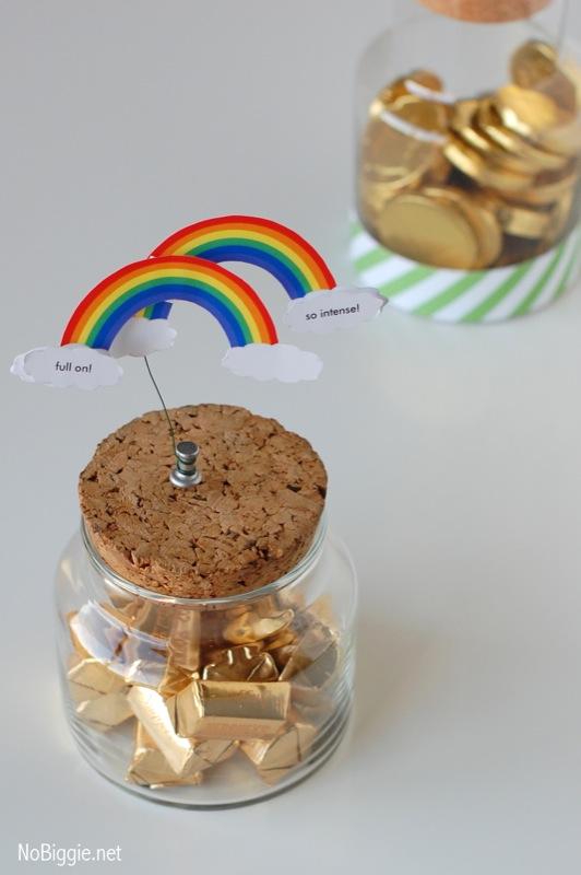 Double Rainbow Printable | 25+ Unicorn Party Ideas