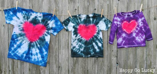 Tie Dye Shirts | 25+ Boredom Busters