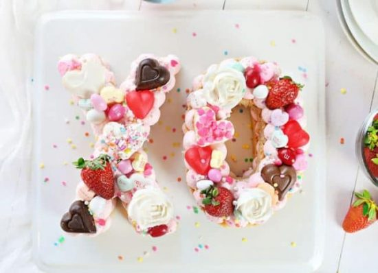 XO Valentines Day Cake | 20+ Layered Cookie Cakes