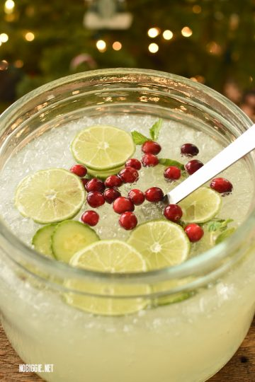 Cucumber Limeade Party Punch