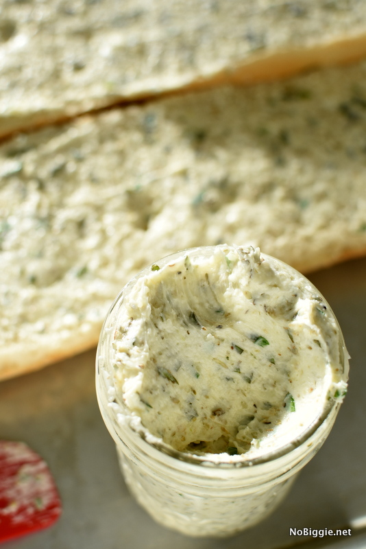 homemade garlic butter spread