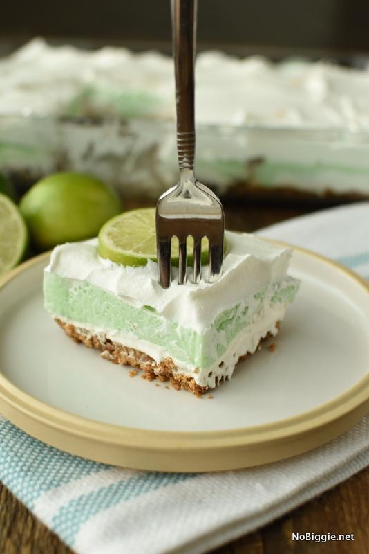 Layered Lime Lush Dessert