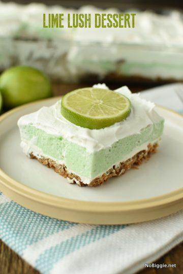 Lime Lush Dessert