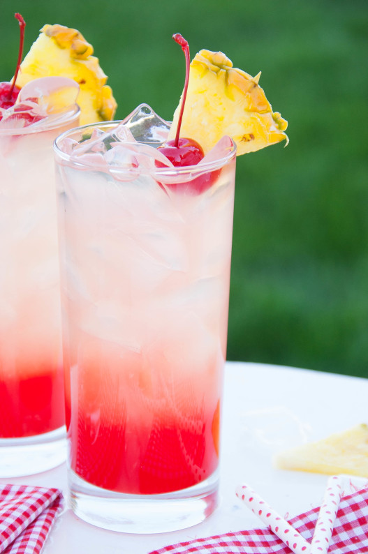 Cherry Pineapple Lemonade | 25+ Lemonade Stand Ideas