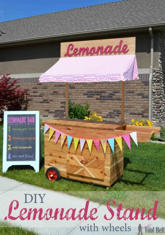 Lemonade Stand on Wheels | 25+ Lemonade Stand Ideas