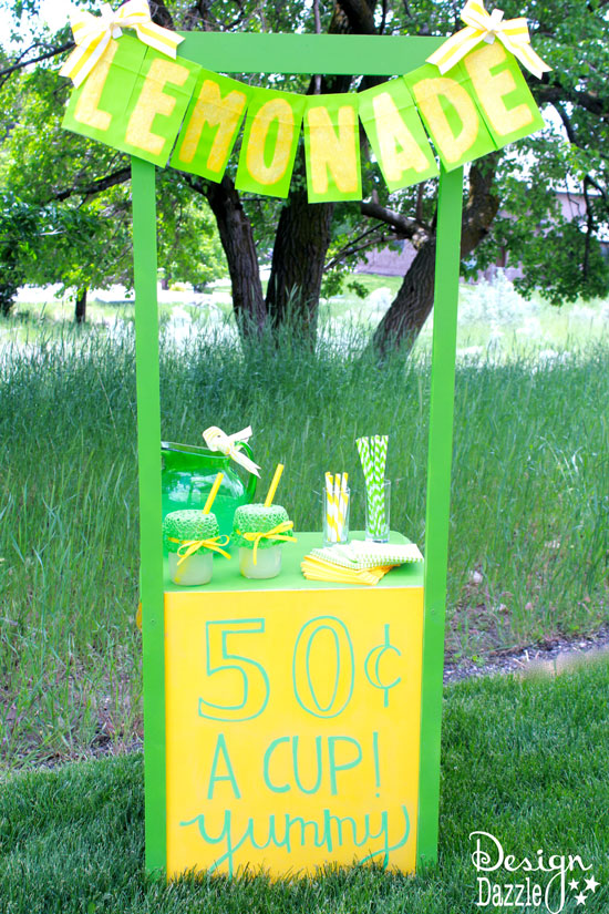Night table Lemonade Stand | 25+ Lemonade Stand Ideas