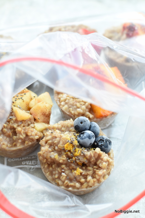 pre portioned steel cut oats