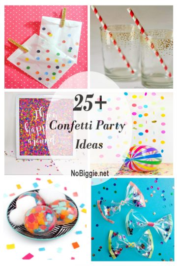 25+ Confetti Party Ideas