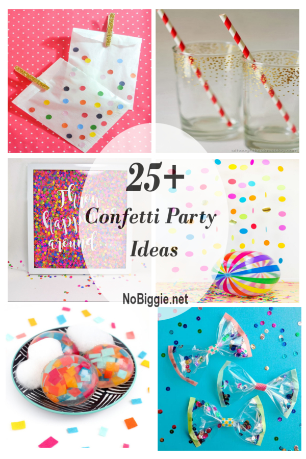 25+ Confetti Party Ideas | NoBiggie.net