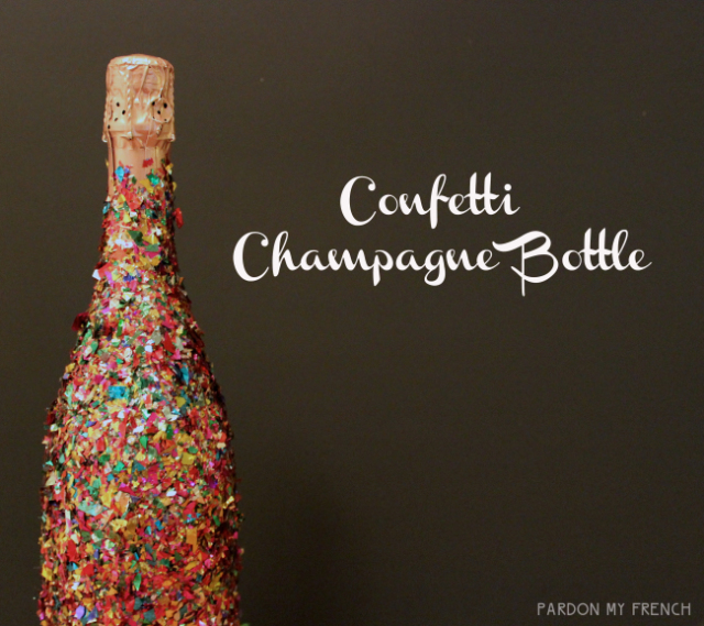 Confetti Bottles | 25+ Confetti Party Ideas