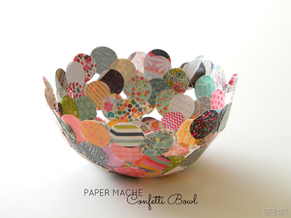 Confetti Bowls | 25+ Confetti Party Ideas
