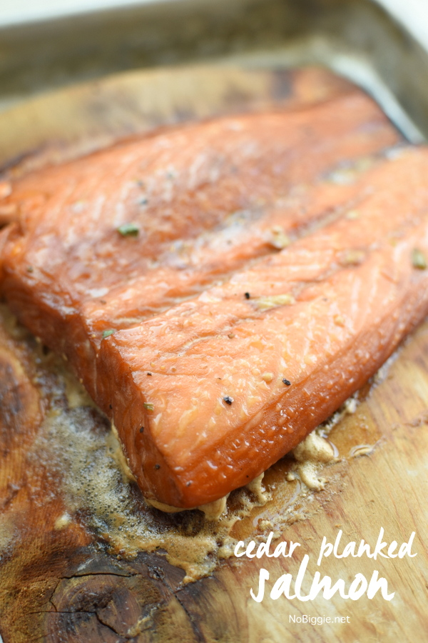 Cedar Planked Salmon makes the most tender and moist flaky salmon. This marinade is so full of flavor too. #cedarplankedsalmon #cedarplanksalmon #grillingsalmon #grilledsalmon #cedarplank #grilled #salmon