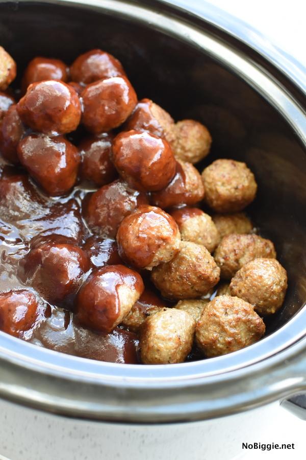cran bbq meatballs