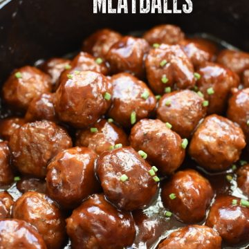 cranberry bbq crockpot meatballs