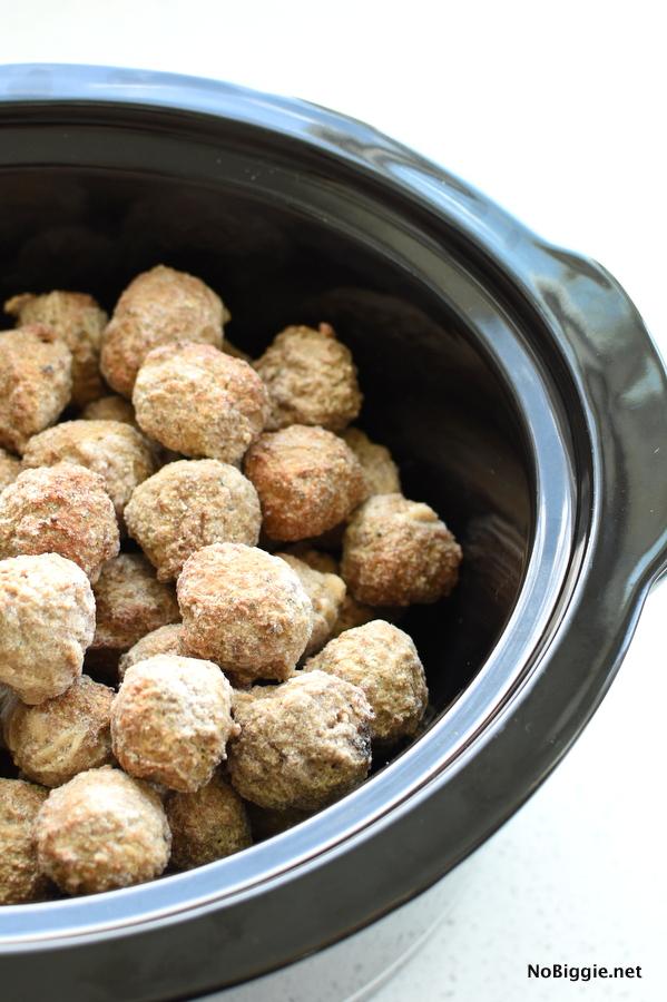 frozen crockpot meatballs