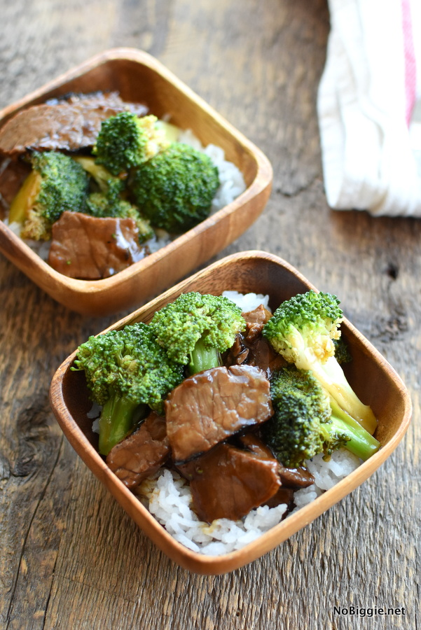Beef and Broccoli with leftover steak