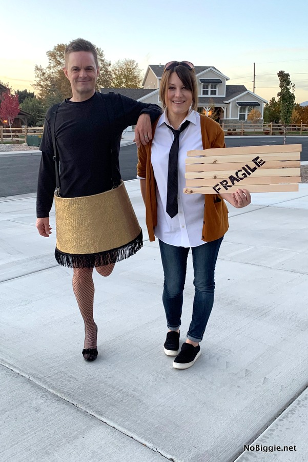 DIY Costume: Fragile Leg Lamp Costume