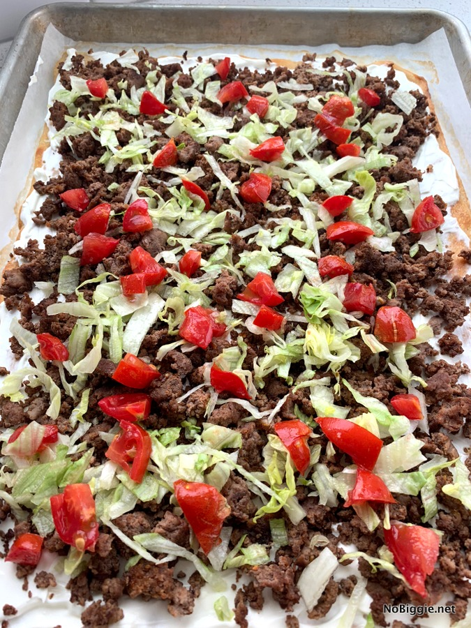 taco pizza easy dinner